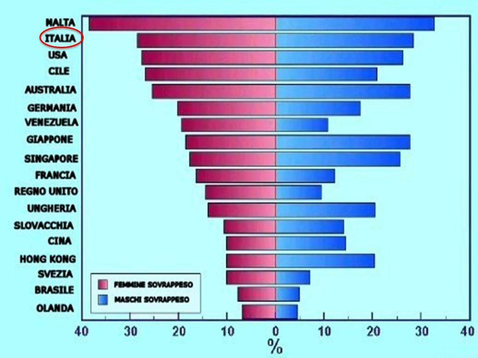A partire dagli inizi degli anni '80 si è assistito nei paesi del mondo occidentale al verificarsi di una vera e propria pandemia (GLOBESITÀ) di obesità [1].